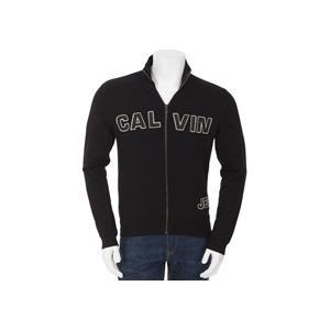 Photo of Calvin Klein Zip Through Sweat Black Tops Man