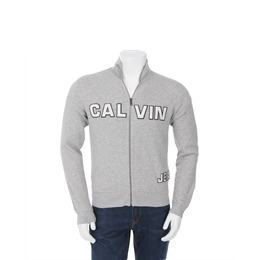 Calvin Klein Zip Through Sweat Grey Reviews