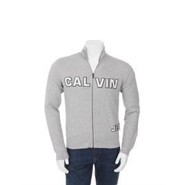 Calvin Klein Zip Through Sweat Grey Reviews