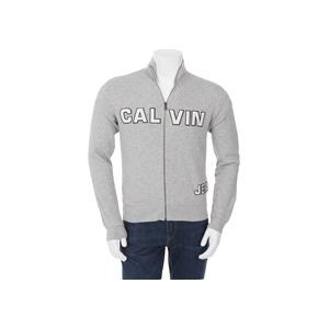 Photo of Calvin Klein Zip Through Sweat Grey Tops Boy