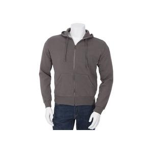 Photo of Calvin Klein Zip Through Hoodie Dark Grey T Shirts Man