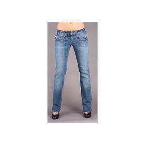 """Photo of Diesel Keate Blue Straight 34"""" Leg Jean Jeans Woman"""