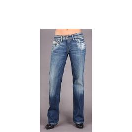 """Diesel Bebel Blue Straight 32"""" Leg Jean Reviews"""