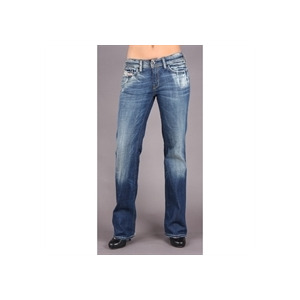"Photo of Diesel Bebel Blue Straight 32"" Leg Jean Jeans Woman"