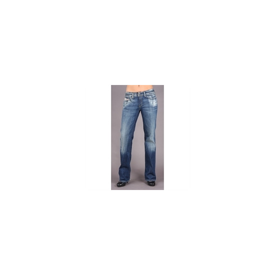 "Diesel Bebel Blue Straight 32"" Leg Jean"