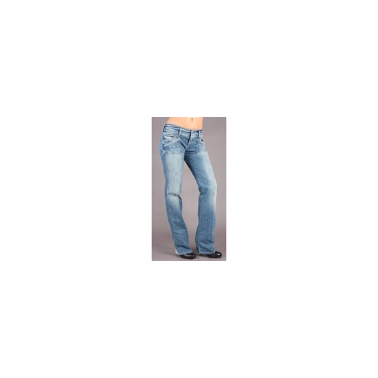 "Diesel Reckfly Blue Straight 34""Leg Jean"
