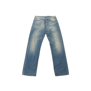Photo of Evisu Vintage Wash Straight Leg Jeans Jeans Man