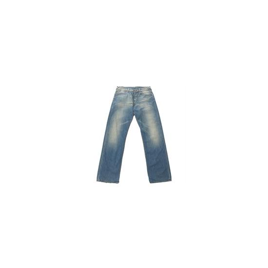 Evisu Vintage Wash Straight Leg Jeans