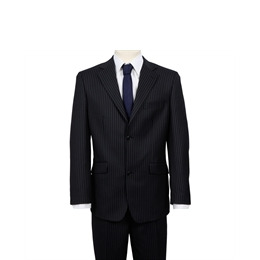 Ben Sherman Single Breasted Suit Twin Stripe Navy Reviews