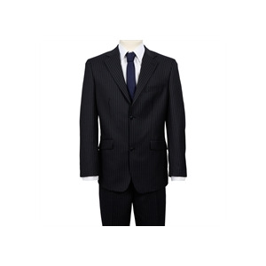 Photo of Ben Sherman Single Breasted Suit Twin Stripe Navy Jackets Man