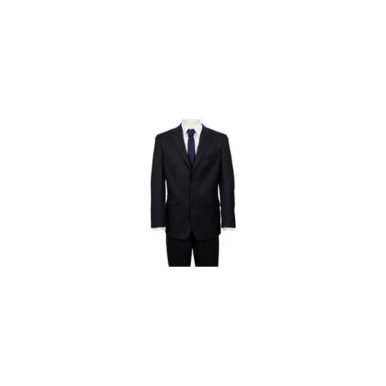 Ben Sherman Single Breasted Suit Twin Stripe Navy