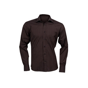 Photo of Mark Westwood Striped Shirt - Chocolate Shirt