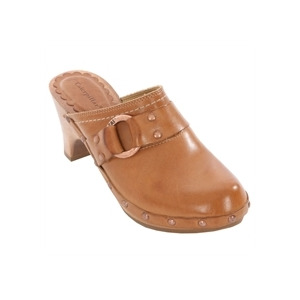 Photo of Caterpillar Vino Tan Leather Slip On Mules Shoes Woman
