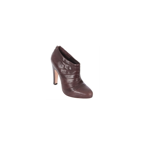 All Saints Brown Leather Shoe Boot