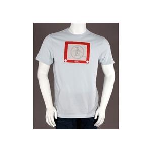 Photo of Penguin Printed T Shirt Blue/Grey T Shirts Man