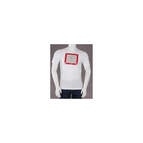 Penguin Printed T Shirt White