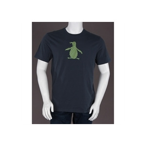 Photo of Penguin Printed T Shirt Blue T Shirts Man