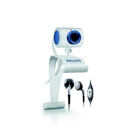 Philips Webcam with 360 Pivot and Headset/Mic Reviews
