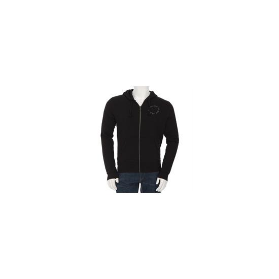 Calvin Klein Zip Through Sweatshirt Black