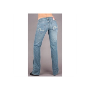 Photo of Evisu Mid Wash JE03 Jeans (34 Inch Leg) Jeans Woman