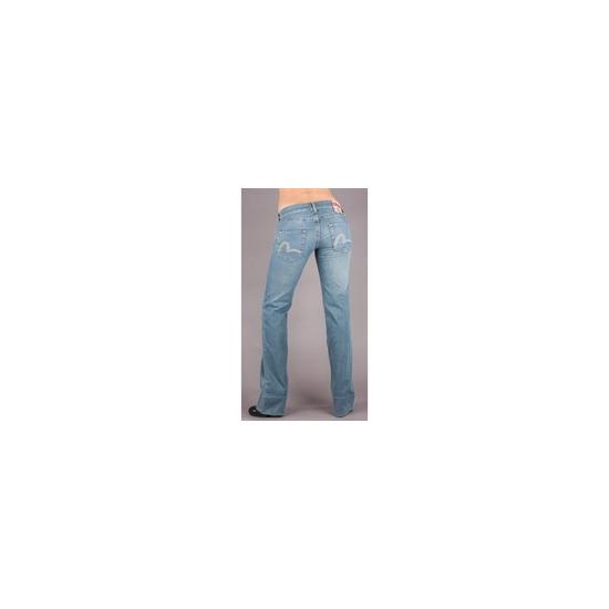 Evisu Mid Wash JE03 Jeans (34 inch leg)