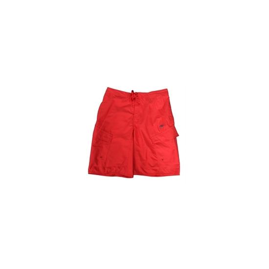 Nike Board Shorts Red & Grey