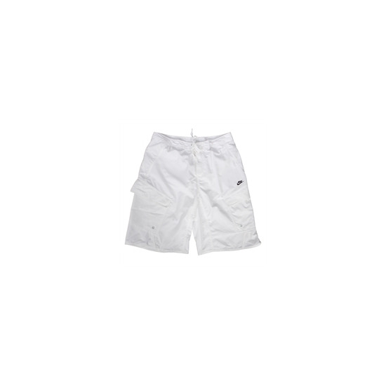 Nike Board Shorts - White & Green