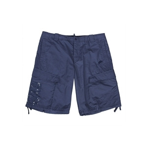 Photo of Nike Graphic Shorts - Navy Blue Trousers Man