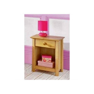 Photo of Boston Solid Birch Bedside Table Furniture