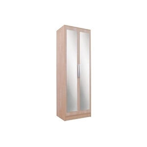 Photo of Chicago 2 Door Mirrored Wardrobe  Birch Furniture