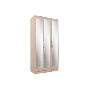Photo of Chicago 3 Door Mirrored Wardrobe  Birch Furniture