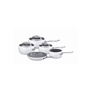 Photo of Marco Pierre White 5 Piece White Pan Set Cookware