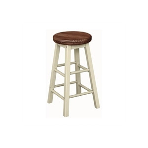 Photo of Kitchen Stool  Pine and Cream Furniture