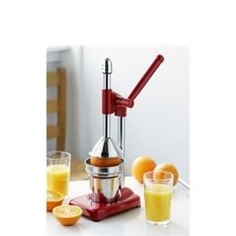 Red and Chrome Hand Juicer Reviews