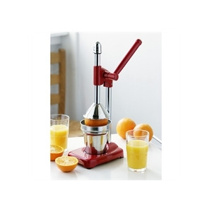 Photo of Red and Chrome Hand Juicer Juice Extractor