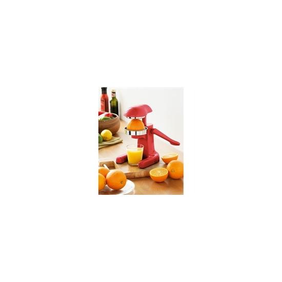 Retro Mini Hand Juicer Red