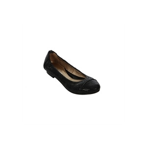 Photo of All Saints Flat Leather Ballet Pumps Black Shoes Woman