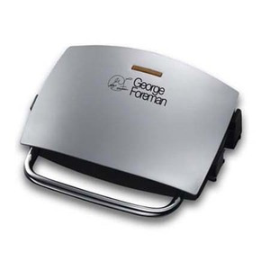 Photo of George Foreman Silver Grill & Melt 14181 Contact Grill
