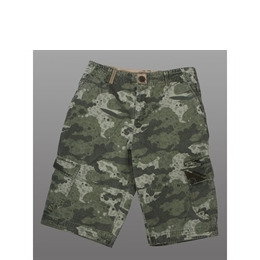 Animal Long Cargo Camouflage Shorts Reviews