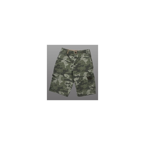 Animal Long Cargo Camouflage Shorts