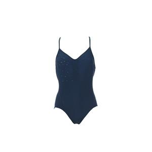 Photo of Speedo Swimsuit With Crossed Back - Teal Swimwear