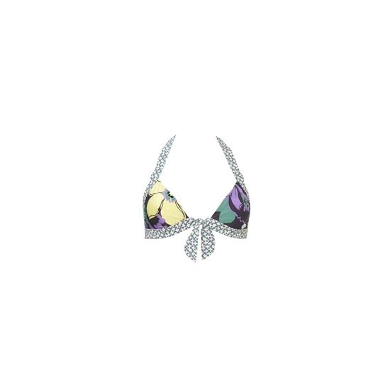 Odille Reversible Floral Triangle Bikini Top