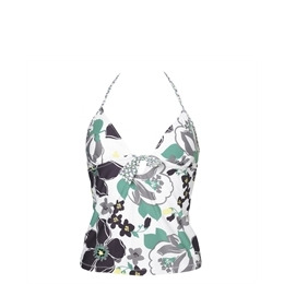 Odille Floral Print Tankini Top Reviews