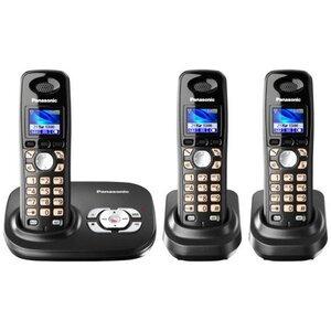 Photo of Panasonic KXTG8023 Dect Trio and Answer Machine Landline Phone