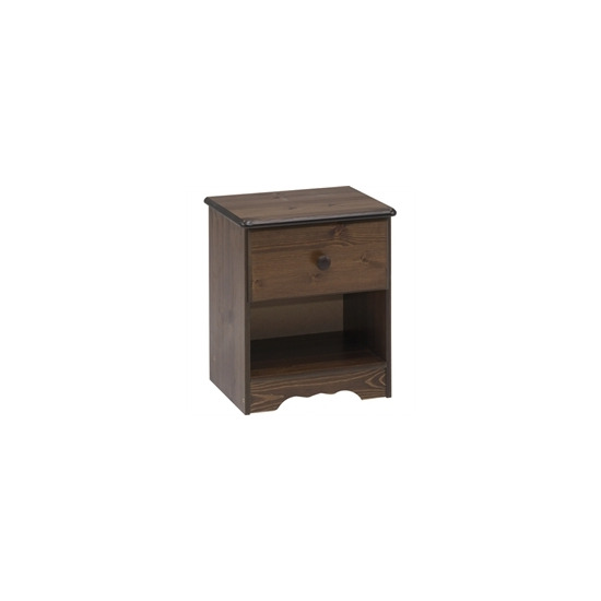 Highbury 1 Drawer Bedside Table
