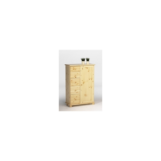 Martin 1 Door 5 Drawer Combi Unit