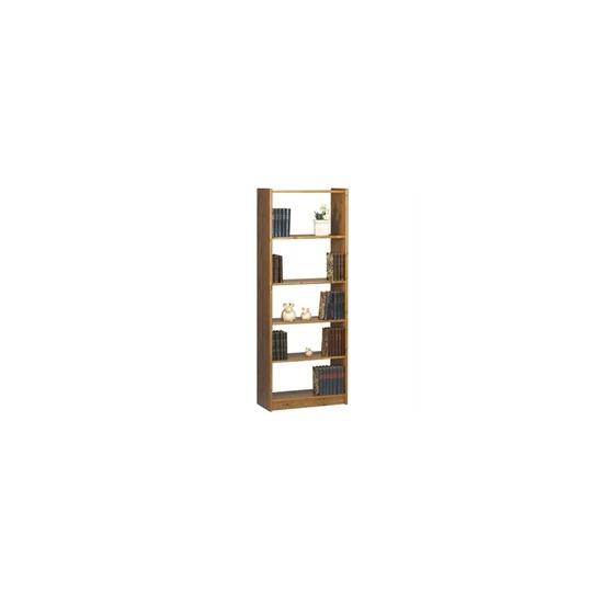 Axel Narrow 4 Shelf Bookcase