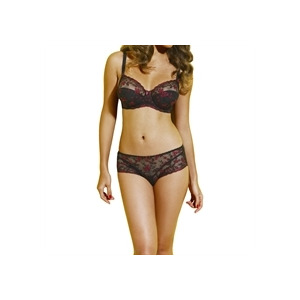 Photo of Fantasie Full Cup Lace Bra - Black Lingerie
