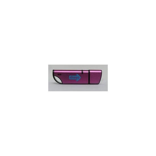 Disgo Pink USB Flash Drive 2GB