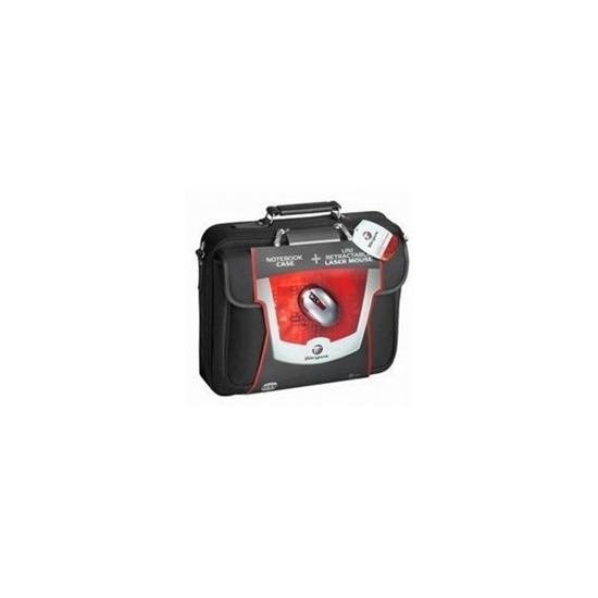 Targus Notepac Black + Retractable Laser Mouse